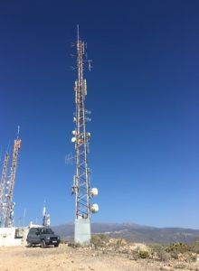 Transmitter, Antenna, Teide, Spain