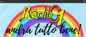 Website of Radio C1 in Italy