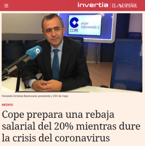 President of Spanish radio station Cadena Cope