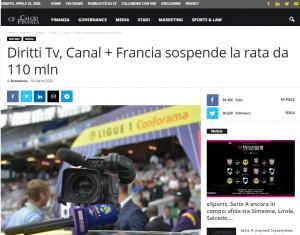 Calcio Finanza, Italy