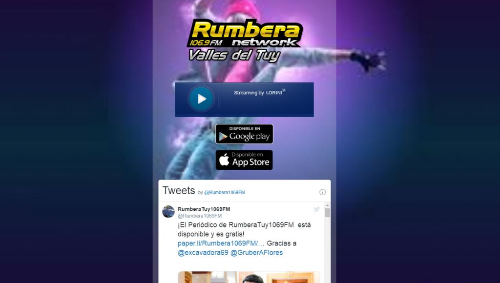 rumba network, venezuela valles del tuy online radio station
