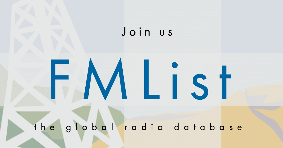 FmList the global radio database