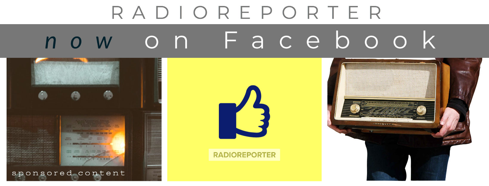 RadioReporter now on Facebook