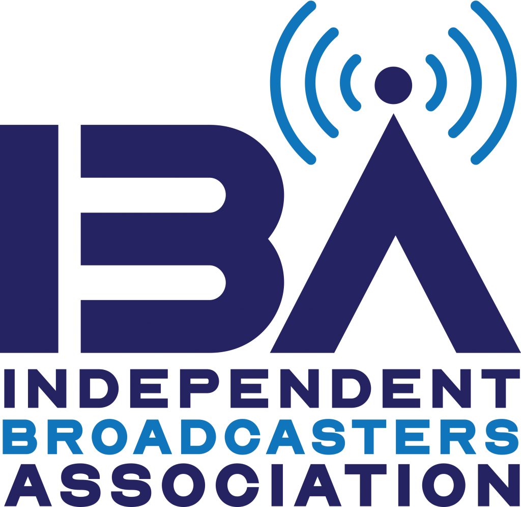 The logo of the Independent Broadcasters Association, a new association for American radio stations: 2.700 have already joined and the target number is 3.000
