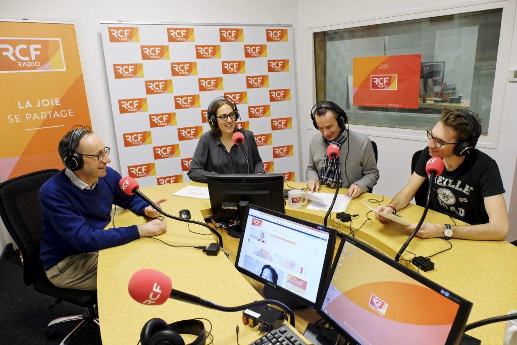 Les studios de RCF (Radio Crétienne Francofone), un réseau de 64 stations communautaires qui font appel à environ 3000 bénévoles