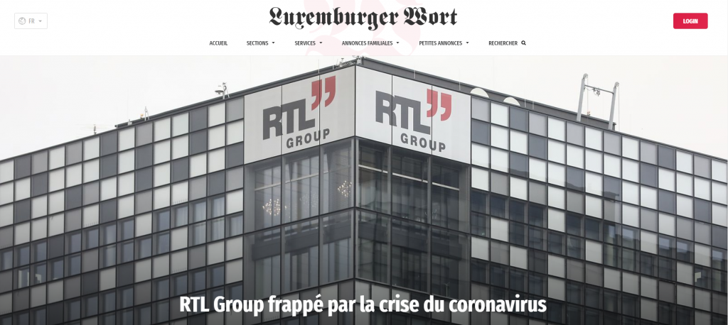 The RTL Group with headquarters in Luxembourg is one of the leading companies in the field of broadcasting and digital media with interests in 68 television stations, 8 streaming platforms, 30 radio stations and a production company in many countries worldwide