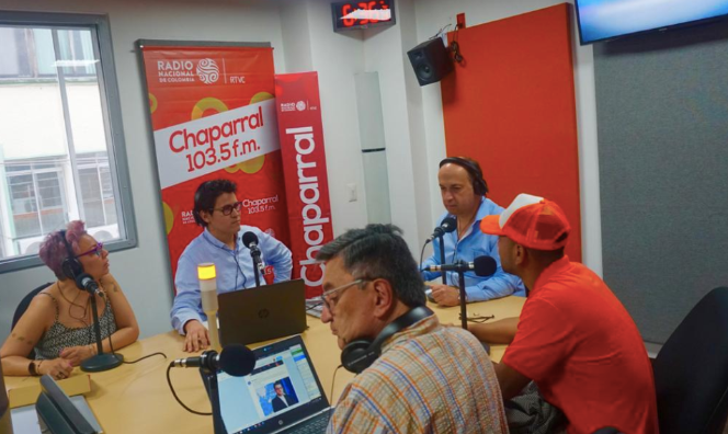 The Radio Chaparral studios, the first radio station opened on June 25th, 2019day is a political party