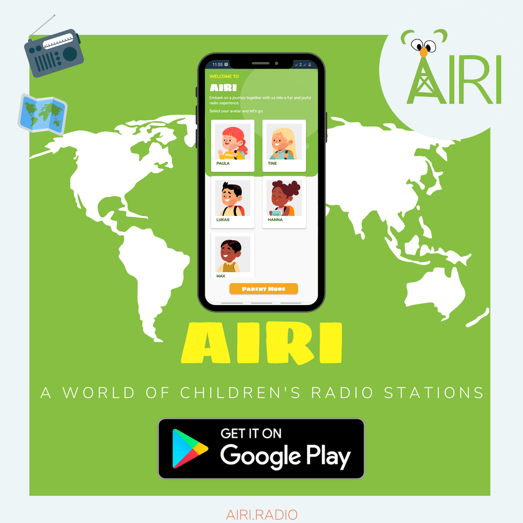 children radio app