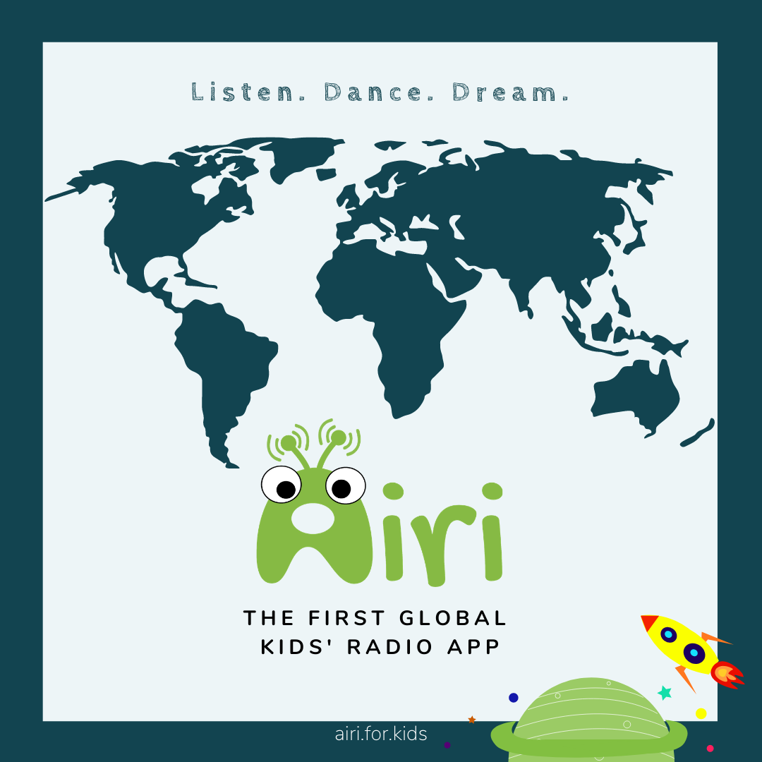 the first global kids' radio app