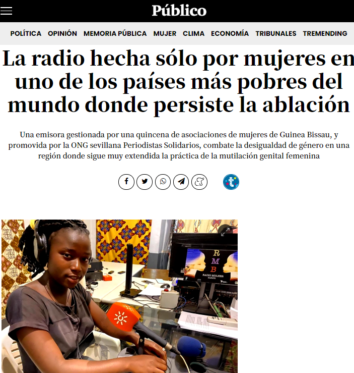Guinea Bissau: the radio that wakes up the country is run by women only