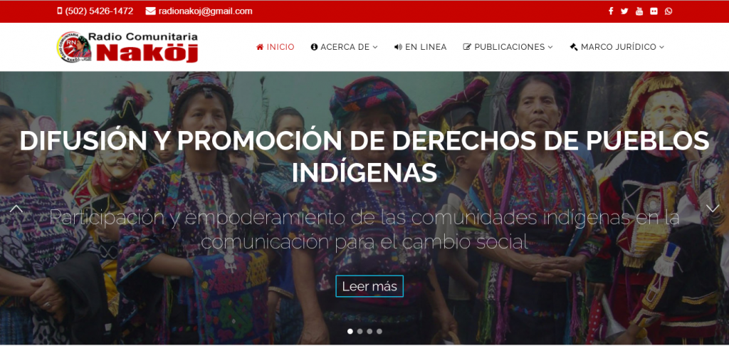 Radio Naköj promotes the participation of indigenous peoples in communication to foster social change
