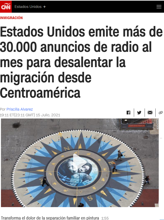 USA government airs 30,000 spots a month on Central American radio stations